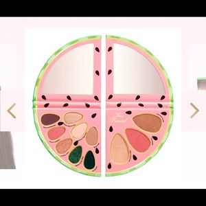 Too faced Watermelon Face and Eye Palette